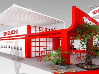 Design 3D, Conception et Agencement sur mesure du stand d'exposition au salon Intermat